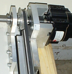 Gear driven axis drive